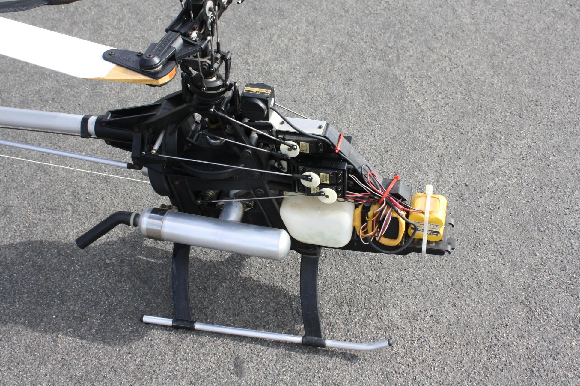 KYOSHO H6115 SERVO FRAME SET CONCEPT 60 HELICOPTER PARTS