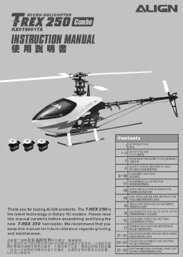 t rex 250 rh vrhc co uk align 250 se manual align trex 250 manual