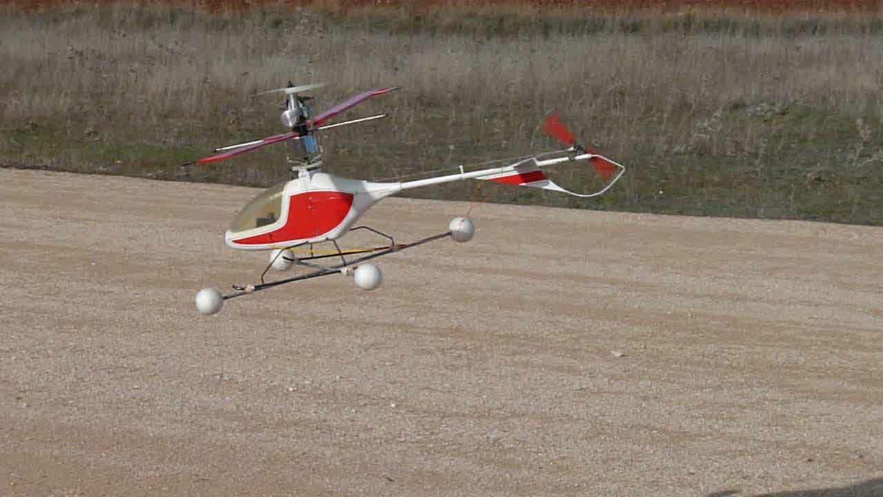 Whirlybird - Runryder rc heli ...